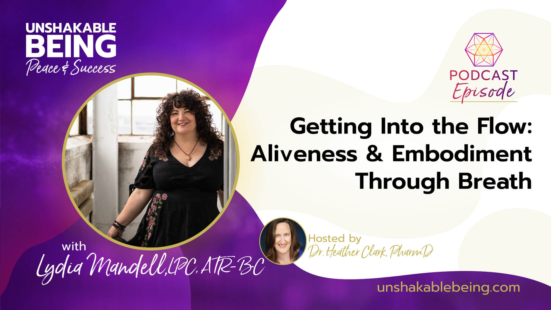Getting Into the Flow: Aliveness and Embodiment Through Breath | Lydia Mandell, LPC, ATR-BC