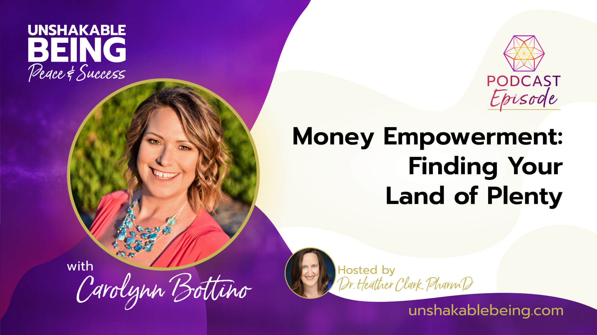 Money Empowerment: Finding Your Land of Plenty | Carolynn Bottino