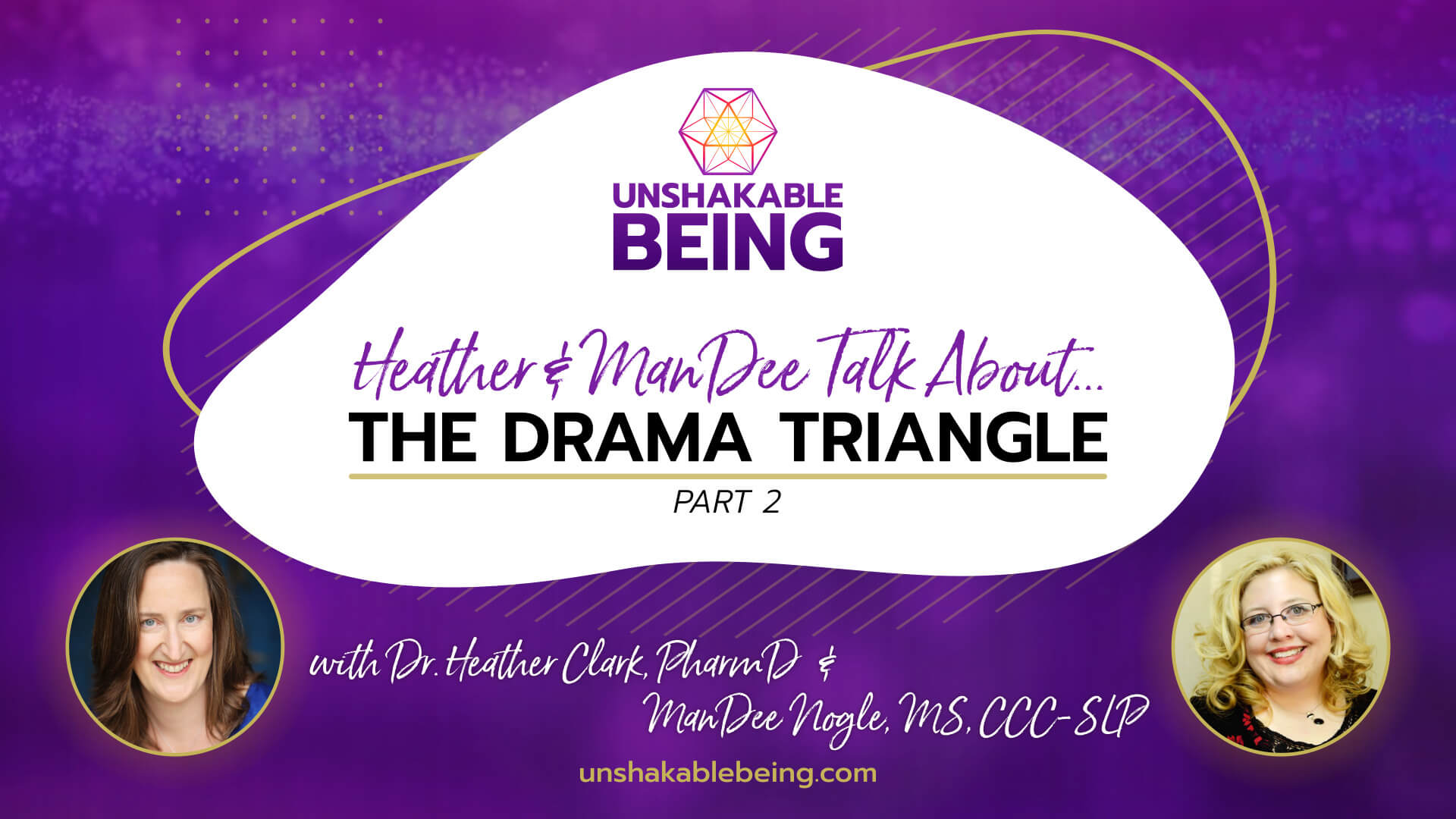 The Drama Triangle (Part 2) on Heather & ManDee Talk about…