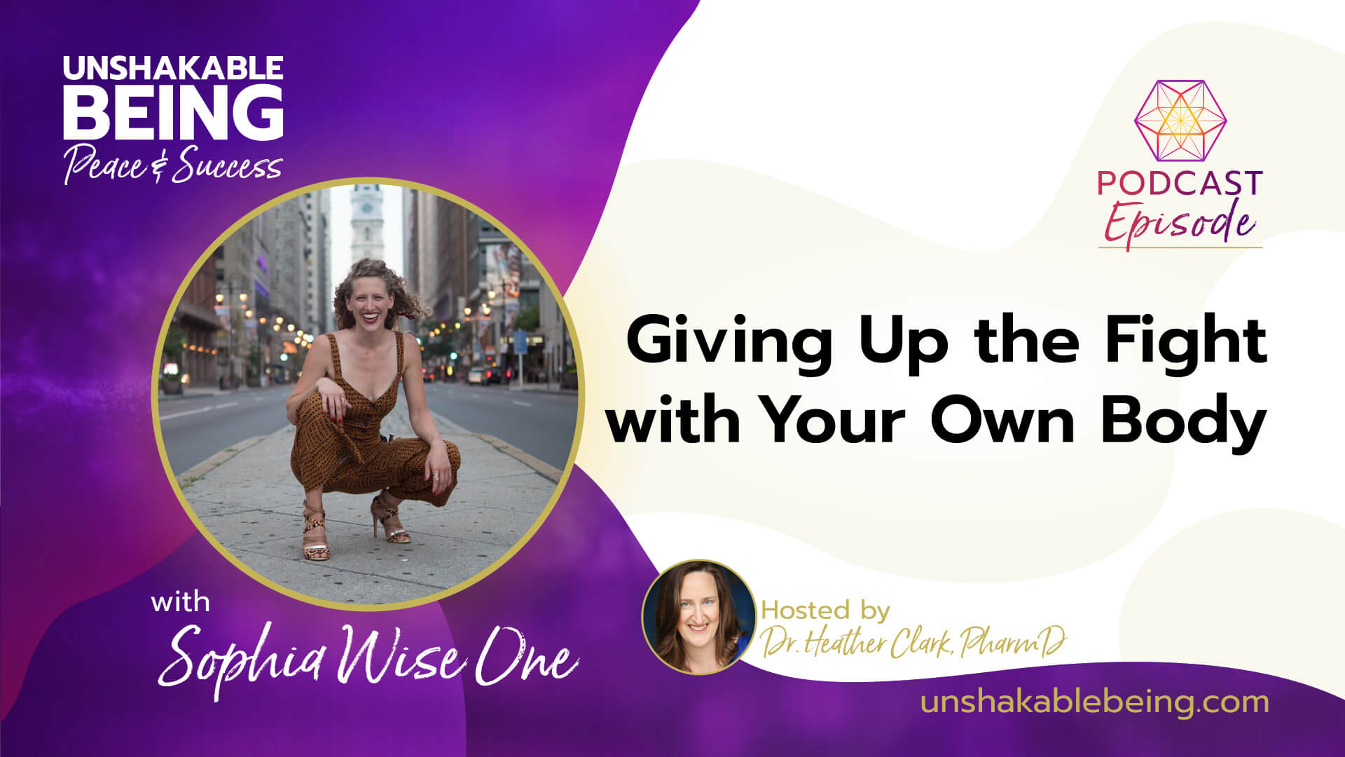Giving Up the Fight with Your Own Body | Sophia Wise One