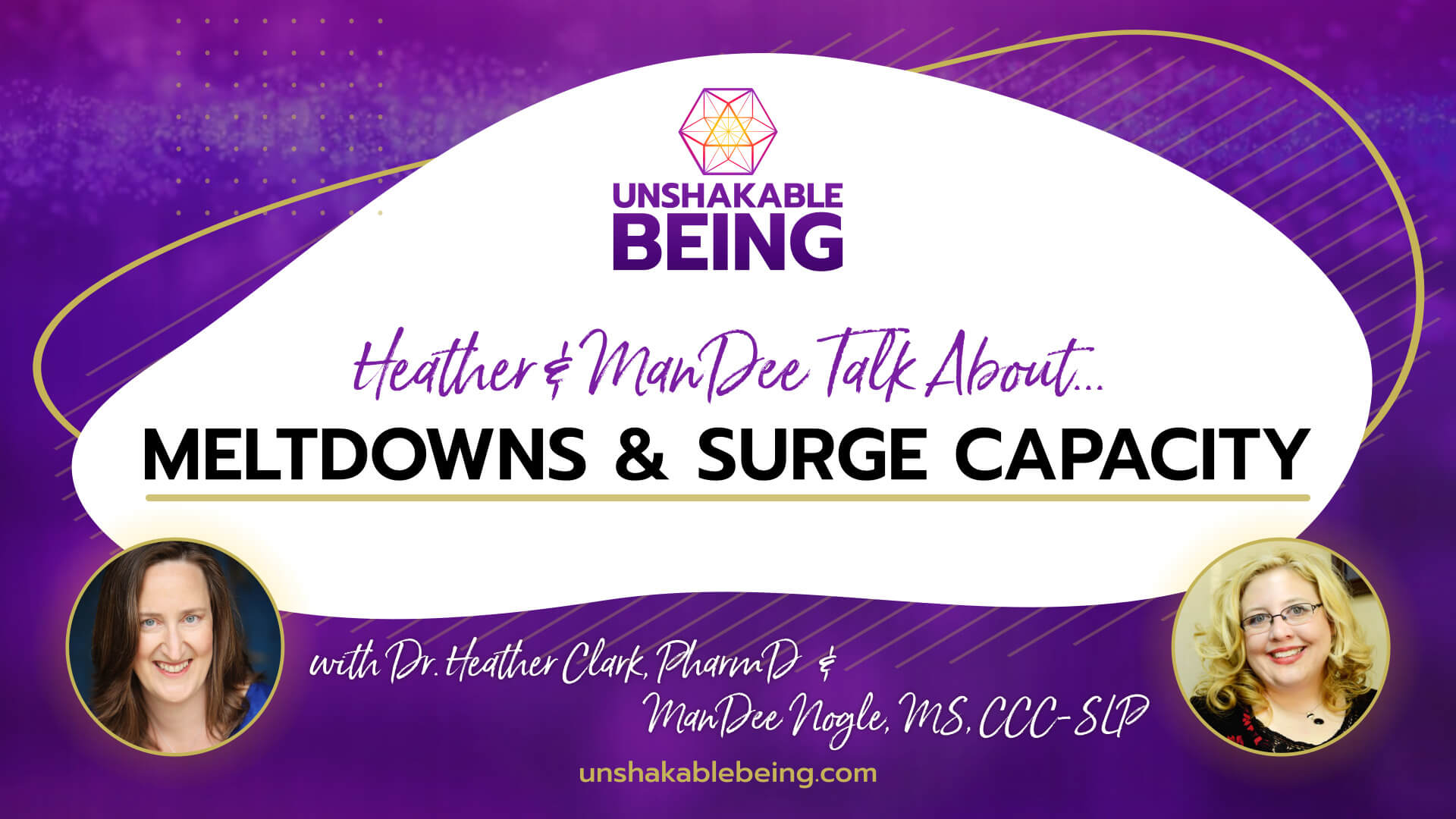Heather and ManDee Talk About...Meltdowns & Surge Capacity