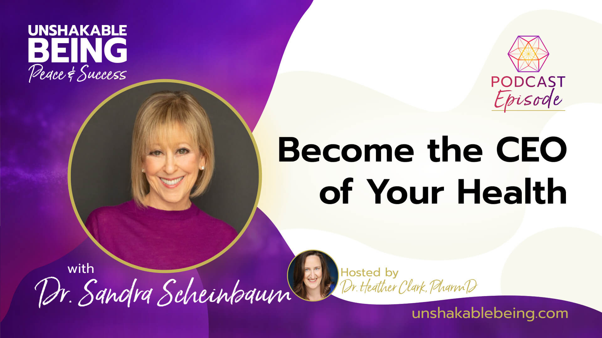 Become the CEO of Your Health | Dr. Sandra Scheinbaum