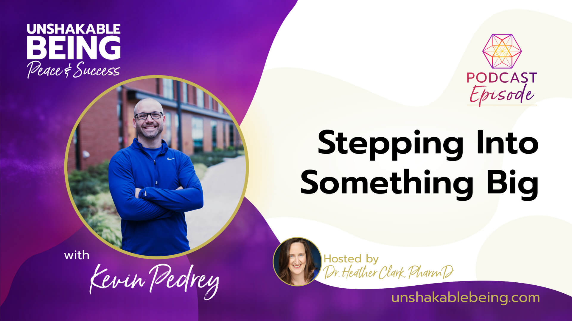 Stepping Into Something Big | Kevin Pedrey