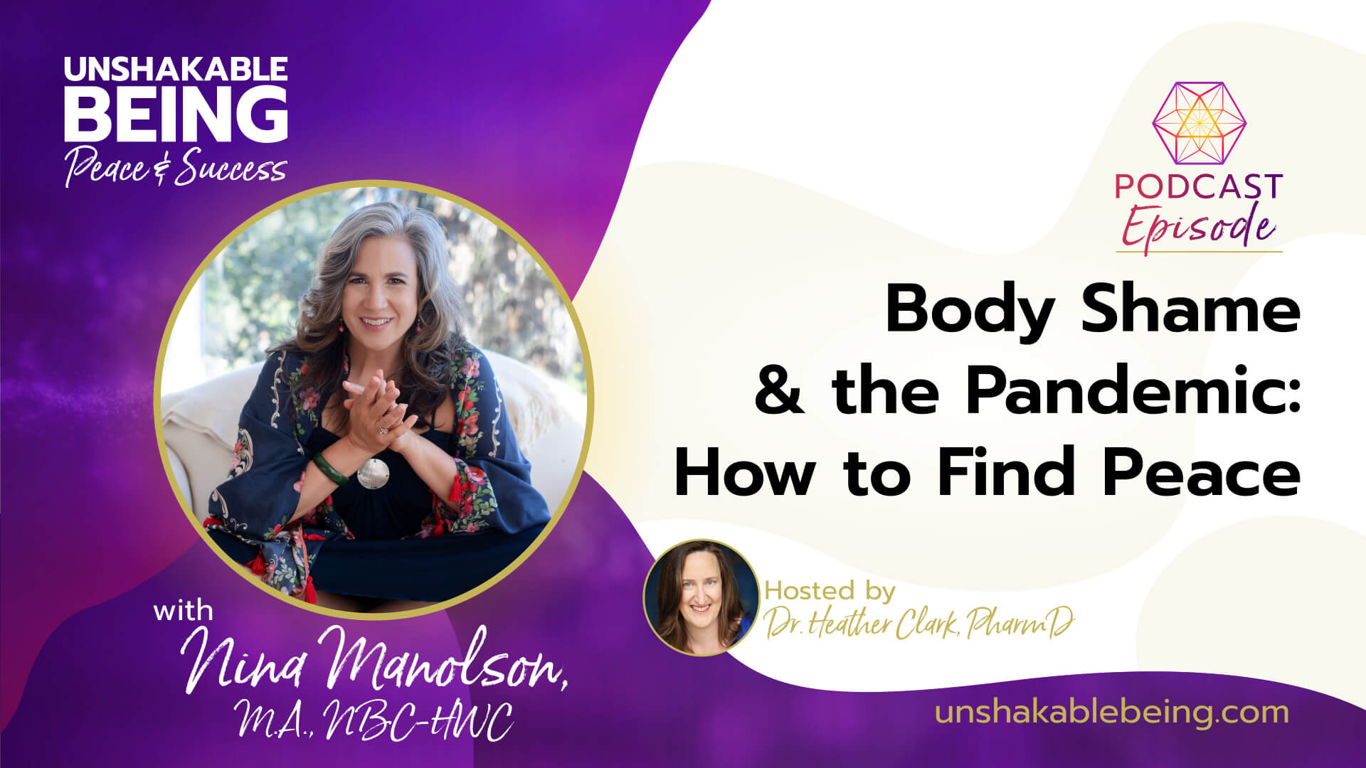 Body Shame and the Pandemic: How to Find Peace | Nina Manlson