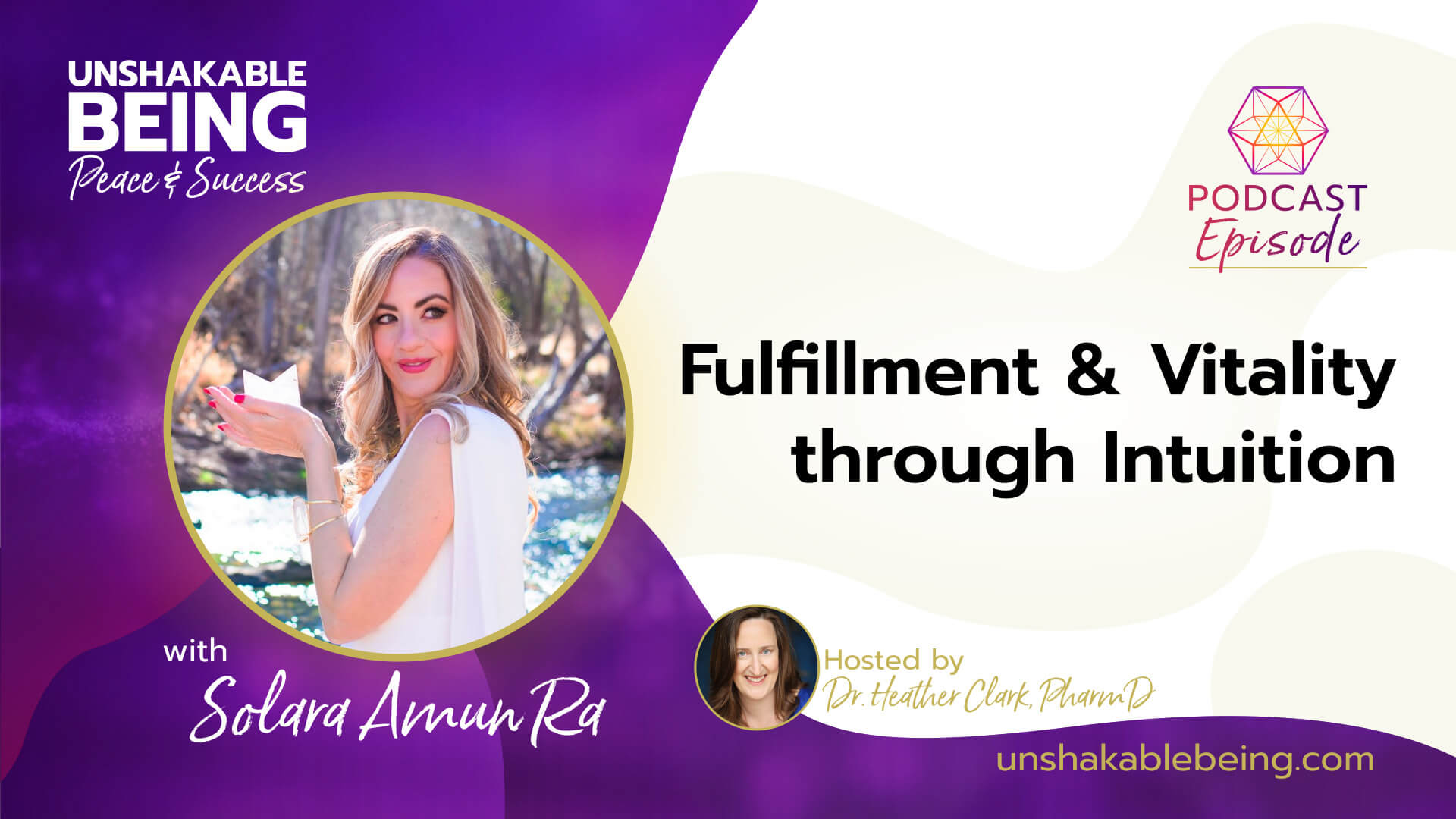 Fulfillment and Vitality through Intuition | Solara Amun Ra